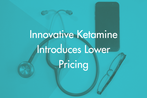 Chicago Ketamine Price